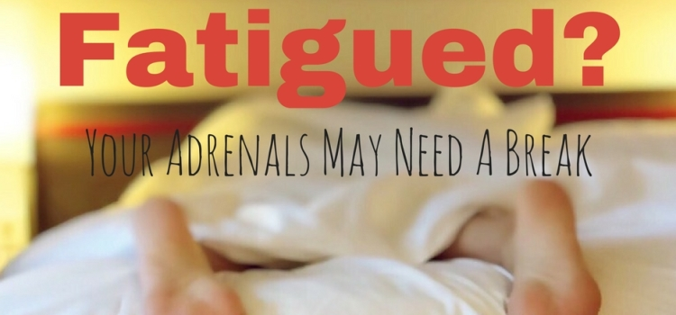 Forever Fatigued? Your Adrenals May Need A Break